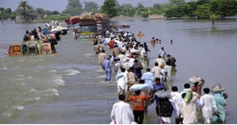 Description: Another 200 villages of Badin have been flooded and more than 300,000 people displaced.  According to reports, monsoon rains have wreaked havoc across district Badin and its surrounding areas....